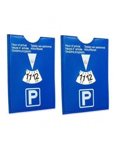 2er Set Auto Parkscheiben / Parkuhr für Kurzparkzonen
