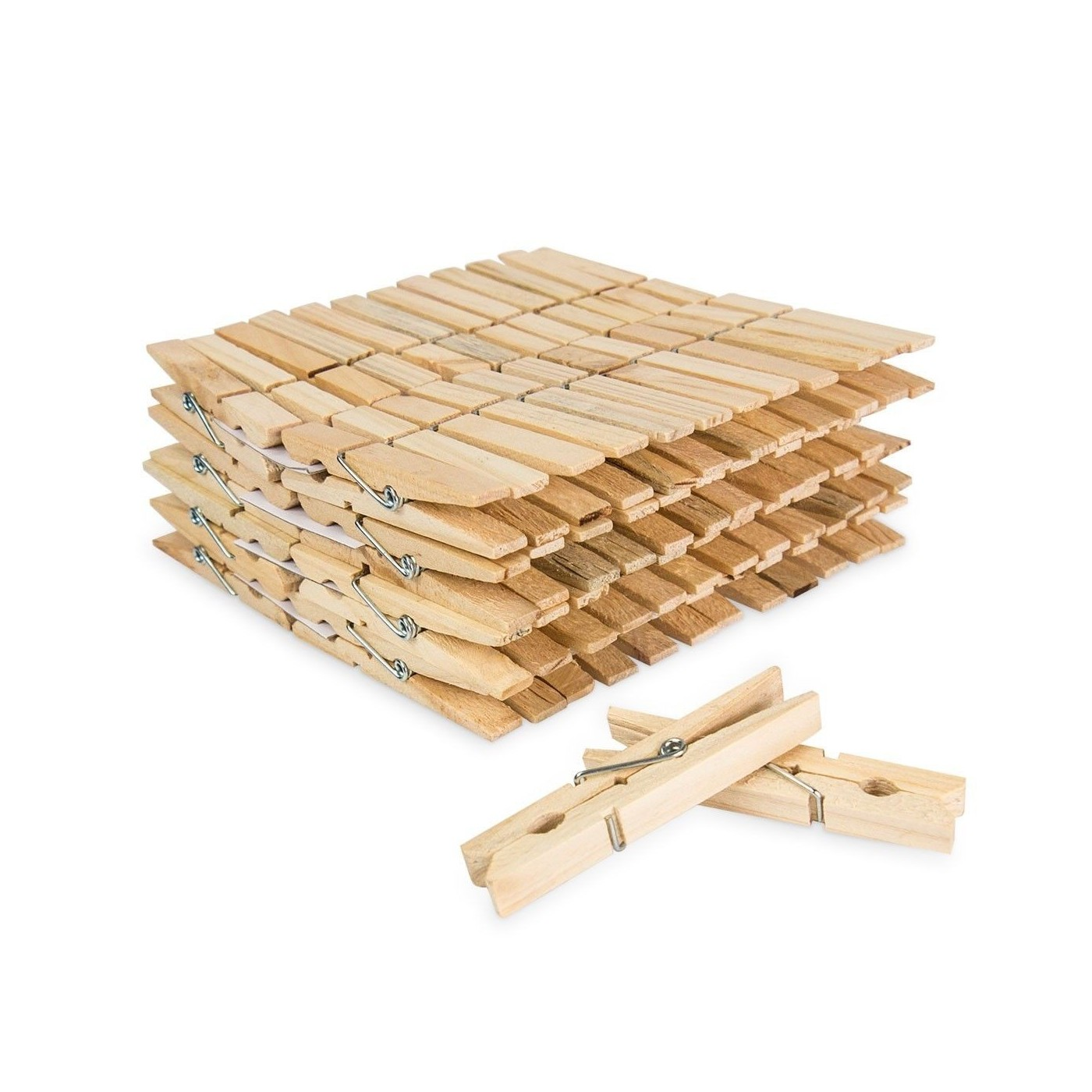 50 Holz Wäscheklammern Holz Klammern 75cm Groß Für Wäsche